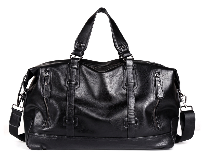 631b2b732c75 Модные мужские дорожная сумка, чемодан водостойкий Чемодан вещевой мешок большой  емкости сумки повседневные высокой емкости из искусственной кожи сумки на  ...
