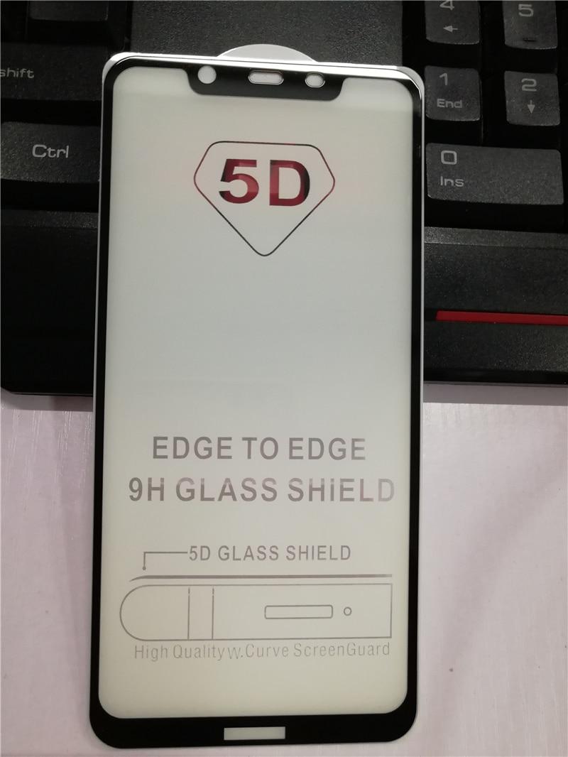 Full Glue Tempered Glass For Nokia 8.1 Screen Protector Full Protective Glass For Nokia 8.1/X7 Coverage Glass Film For Nokia 8.1