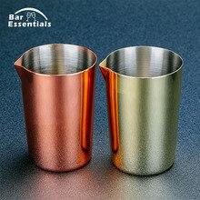 Нержавеющая сталь, олово для перемешивания, 500 мл, смешивающее стекло, Предпочитаемое профессионалами и любителями, сделайте свои собственные специальные коктейли