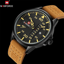NAVIFORCE Original Luxury Brand Full Steel Army Military Quartz Watche Men Hour Clock Sports Wristwatch relogio masculino