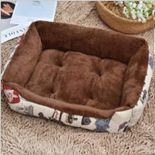 Pet Dog Bed Mat Warming Dog House Soft Material Nest Dogs Baskets Fall and Winter Sleeping Warm Kennel for Cat Puppy Plus Size