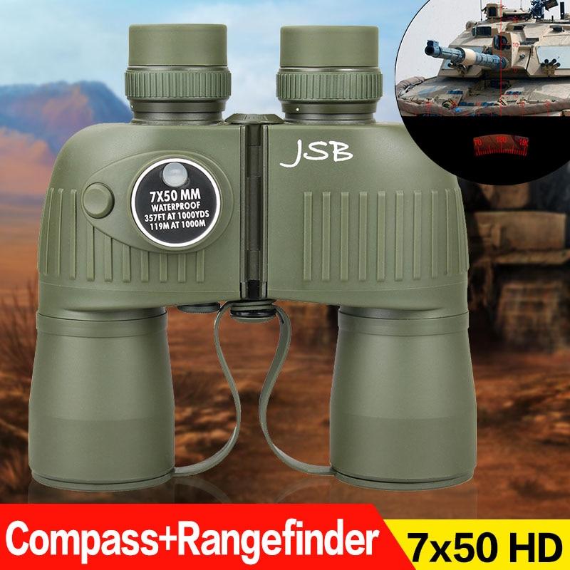 цена на Tactical Military Compass Rangefinder Outdoor Telescope 7x50 Binocular gs3-0043