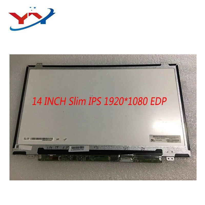 B140HAN01.2 LP140WF6-SPD1 B140HAN01.3 B140HAN01.0 B140HAN01.1 B140HAT02.0 For Thinkpad L440 T440 T420 T430 FHD 1920*1080 Ips