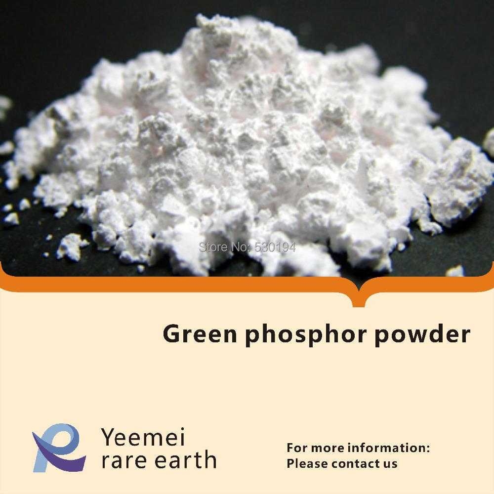 tricolor green fluorescent powder / green phosphor powder is Used in Lamps green