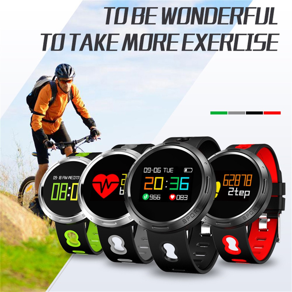 Smart Wrist Watch Bluetooth X9-VO Bluetooth 4.0 Sleep Heart Rate Monitor Fitness Bracele Standard exercises functions bluetooth runner x9 red
