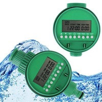 Two Dial Home Water Timer Garden Irrigation Controller 1 16 Set Programs Automatic Watering Irrigation Controller Timer