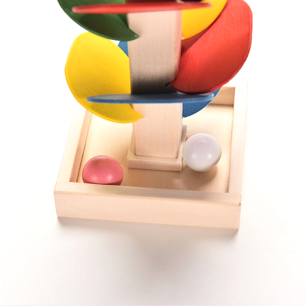 Toys For Children Wooden Toys Building Blocks Tree Marble Ball Run Track Game Educational Baby Kids Toys Toy Brinquedos Gift 26