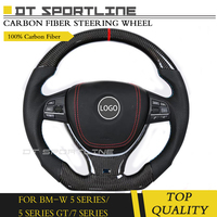 Carbon Fiber Auto Front Part Steering Wheel Replacement For BMW 3 /5 Series F30 G30 5 Series GT 7 Series G11 G12 E92