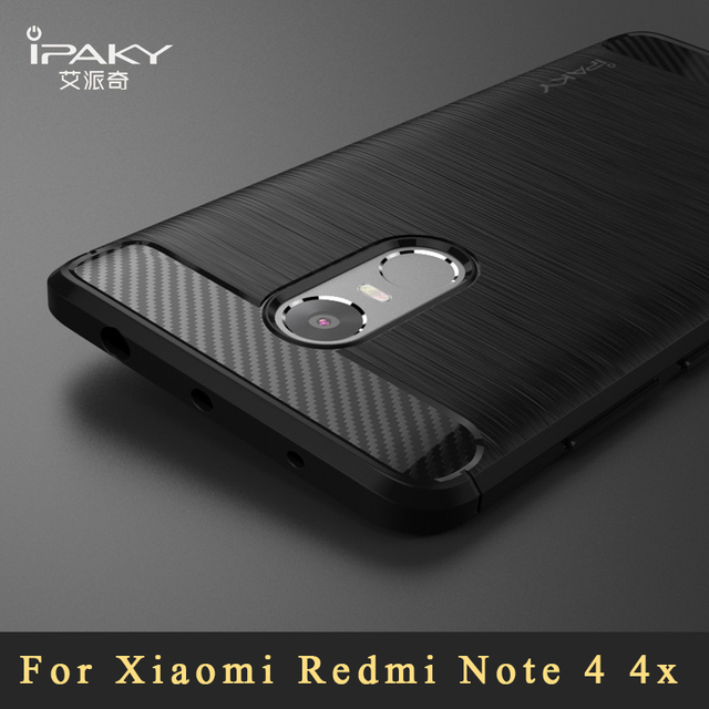 brand new 518c3 1f982 US $4.49 28% OFF|ipaky Cases For xiaomi redmi note 4 pro Global Case Cover  Xiomi Brushed Silicone Back Cover For Xiaomi Redmi Note 4x Case 5.5