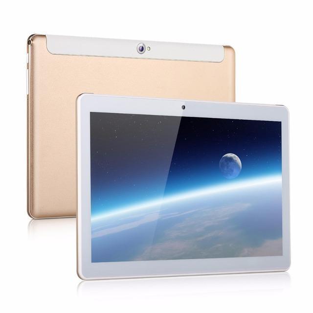 Excelvan 3G Phablet 1280*800 Android 4.4 MTK6582 Quad Core 1GB+16GB WiFi  Dual Camera G-sensor GPS OTG FM 10.1 inch Tablet PC