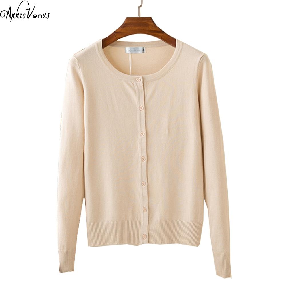 New Female Sweater O-neck Autumn Lady Sweater Winter Fashion Women Cardigans Long Sleeve Women Office Wear Warm Sweater Hot Sale