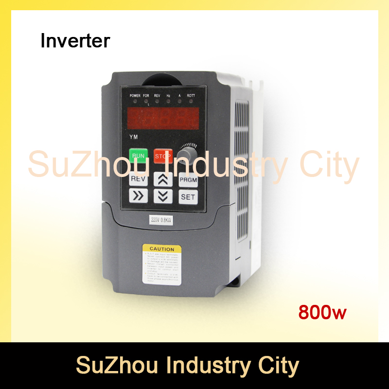 220v 800W VFD Variable Frequency Drive VFD Inverter 1HP Input 3HP Output  CNC spindle motor Driver spindle motor speed control 220v 5 5kw vfd variable frequency drive vfd inverter 3hp input 3hp output cnc spindle motor driver spindle motor speed control