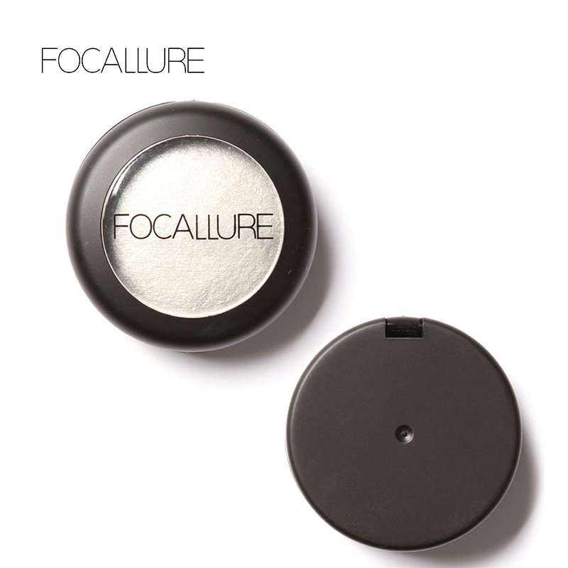 Focallure Eyebrow Powder 10 Colors Baked Eyeshadow Eye shadow Palette in Shimmer Metallic Eyes Makeup