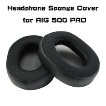 High-quality Headset Foam Cusion Replacement for Plantronics RIG 500PRO earpads Soft Protein Sponge Cover Comfortable