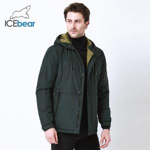 Image 2 - ICEbear 2019 automne nouvelle veste décontracté pour hommes col de mode hommes chapeau hommes marque veste MWC18107I