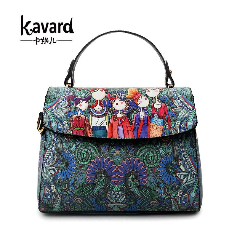 Kavard Bosque Bolso crossbody bolsas de Mensajero de Las Mujeres bolsa de playa