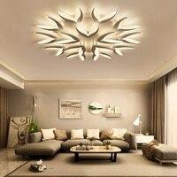 HSHIXINMAO Творческий акриловые светодиодный потолочный светильник жилых комнатная Потолочная люстра коммерческих и офисное освещение