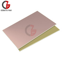 7*10cm 10*15cm CCL Single Double Side PCB Copper Clad Laminate Board FR4 Circuit Board Composite Epoxy Material(China)