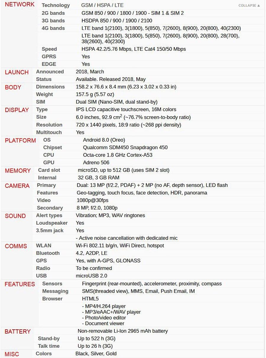 Hot Sale HTC Desire 12 Plus Mobile Phone Dual SIM 6.0 inch 3GB RAM 32GB ROM 13MP Snapdragon 450 Octa core Android 8.0 Smartphone 5