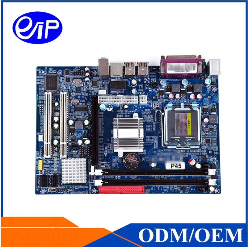 Intel P45 chipest LGA771 motherboard Dual channel DDR3 Xeon E345/E5420/E5440/E5450 Mirco ATX Motherboard