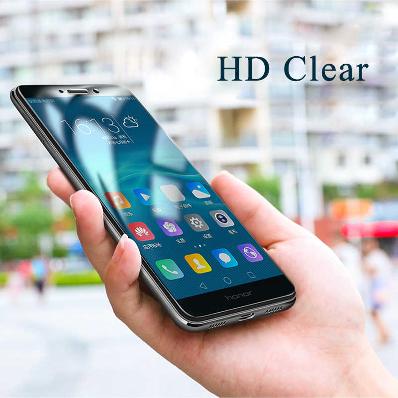 Protective Glass For Huawei Honor 7X 8X 6A 6X 6C Pro 6 A C 7 X Tempered Glass Screen Protector for honor 8 9 Lite View 10 Film