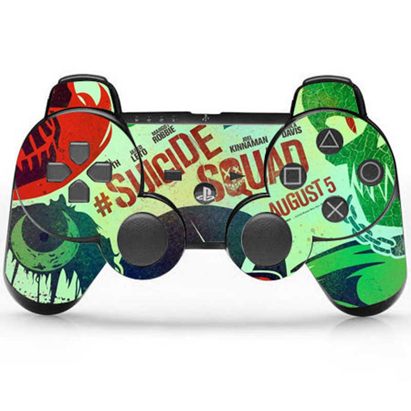 Dragon Ball Design Protector Vinyl Skin Sticker For PS3 Controller Controle Decal Gamepad Cover For Sony Playstation 3