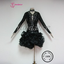 Black Dance Dress Adults Dress  L-11307