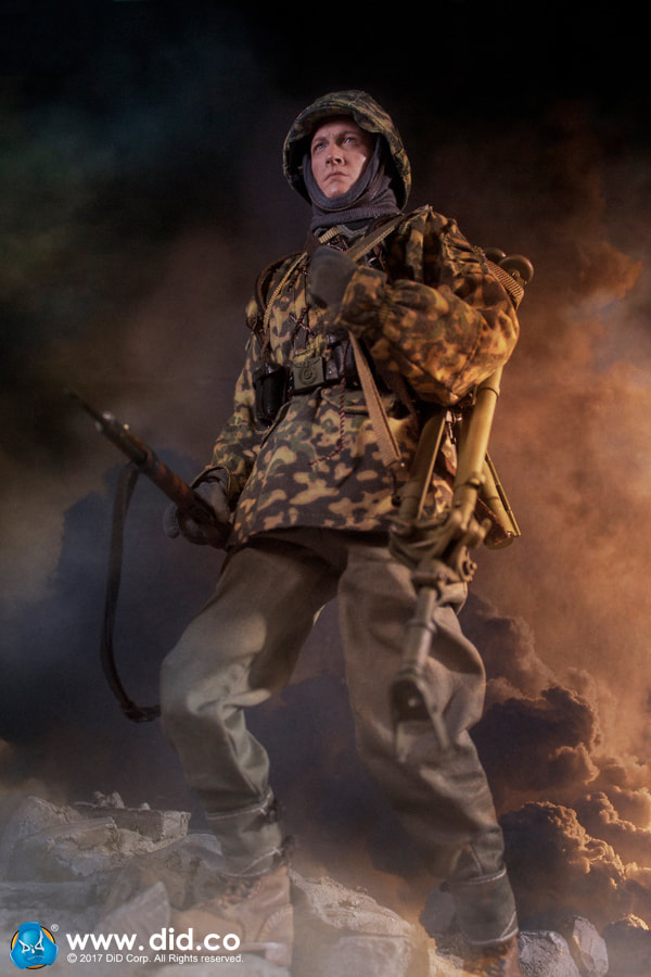 DID Tunic WWII GERMAN PANZER GUNNER CURTIS VER C 1//6 ACTION FIGURE TOYS