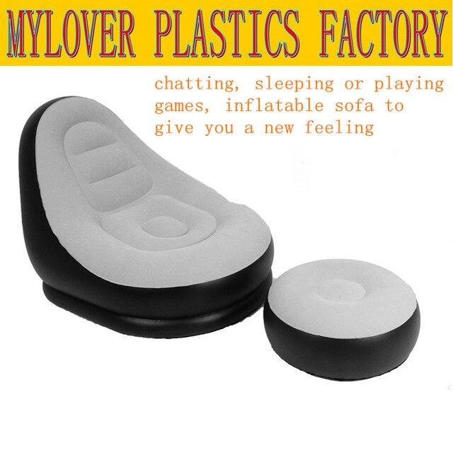 Inflatable Sofa Bed Modern Single Air Cushion Chair Seat