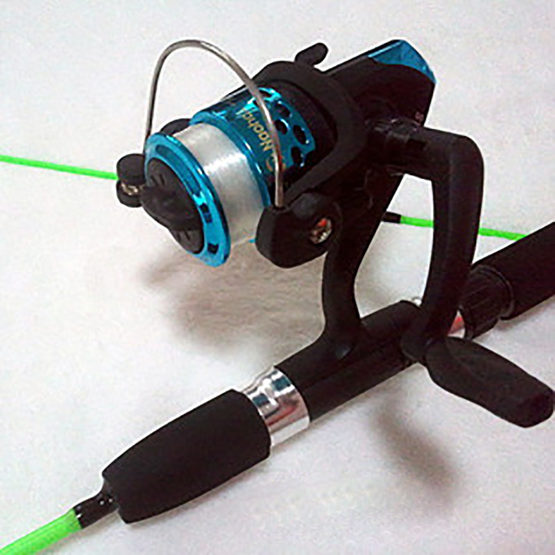 BlueSardine Sale New 1.5m 1.35m Ice fishing Rod Ice Fishing pole stem cutting ice light Fishing rod 1.5 fishing rods