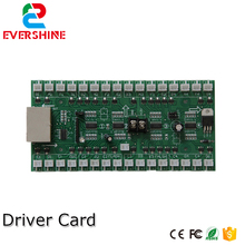 4/5/6 Numbers Driver Card Use For Gas Oil Price LED sign Control Board Use For 6 inch to 15 inch Led Digital Number Module