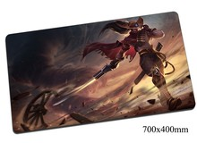 High quality Yasuo mouse pad 70x40cm gaming mousepad gear lol gamer mouse mat pad Unforgiven laptop computer desk mouse play mat
