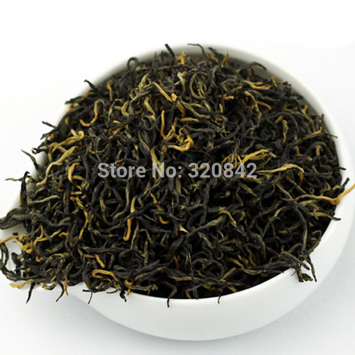 250g New Chinese black tea jinjunmei authentic Wuyi Mountain black tea black natural Jinjunmei bulk loose