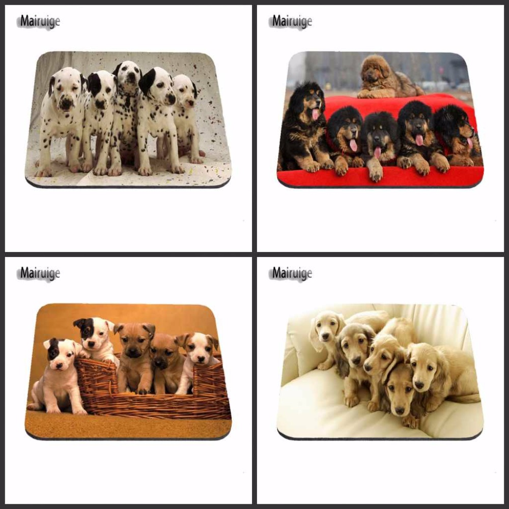 Fashion Customized A Lot Of Cute dog Pug Dog Mouse Pad Gaming Gear Anti-Slip Durable Rubber Mousepad for PC Optical Mouse
