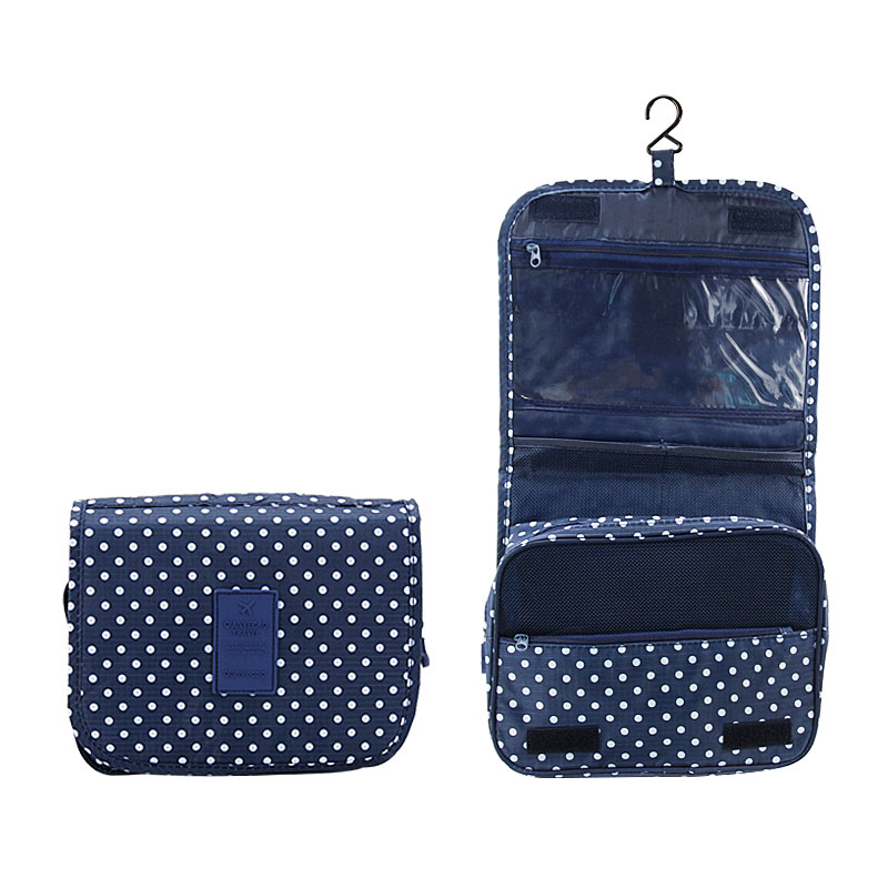 DINIWELL Hanging Toiletry Kit Clear Travel Storage Bag Cosmetic Carry Toiletry Pockets For Womens Gril Gift Travel Bathroom
