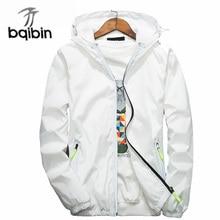 2017 Jacket Men Spring Autumn Bomber Jacket Mens Sunscreen Windbreak Coat Casual Slim Active Couple Unisex Outerwear Veste Homme