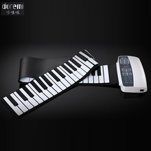 DoReMi Professional Smart Folding Piano 88-keys Silicone Hand-rolled Portable Electronic Piano Adult Beginners S-884