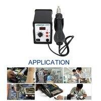 LODESTAR 110/220V Hot Air Gun Desoldering Soldering Rework SMD Station Kit Heat Gun Desoldering Tool + 3 Nozzles