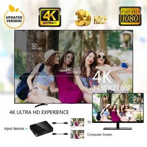 Image 5 - KEBIDU HDMI 1 ב 2 מתוך 1080p 4K 1x2 HDCP חשפנית 3D ספליטר כוח אות מגבר 4K HDMI ספליטר עבור HDTV DVD PS3 Xbox