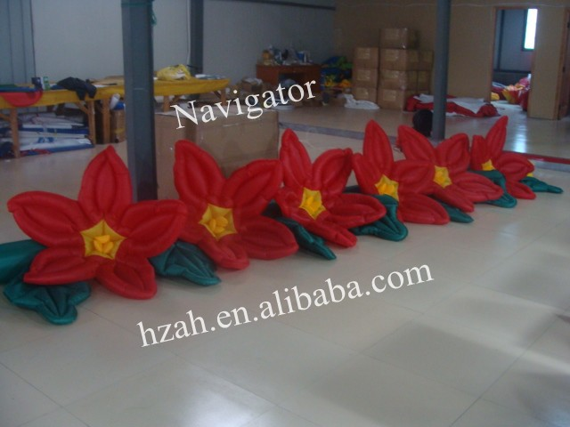 Long Inflatable Flower for Event Decoration event decoration inflatable stand flower