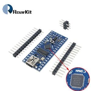 Nano V3.0 3.0 ATmega328 CH340G CH340 Mini USB UART Interface Board Micro controller Module For Arduino 5V Microcontroller
