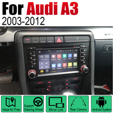 цена на 2 Din Car Multimedia Player Android Radio For Audi A3 8P 2003~2012 MMI DVD GPS Navi Navigation Map Auto audio bluetooth stereo