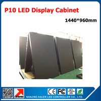 TEEHO Video Card control P10 LED Display Screen 1.44m*0.96m Super Bright Outdoor Video Wall P10 LED Signboard Waterproof