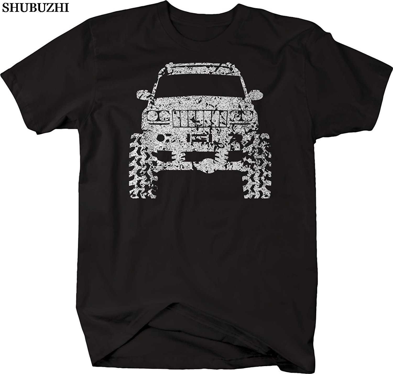 Shubuzhi ผ้าฝ้ายแขนสั้นชายเสื้อผ้า Grand Cherokee WJ ยก Offroad 4X4 Tshirt เสื้อ T