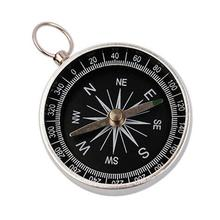 Buy HobbyLane Pocket Mini Hiking Camping Lightweight Aluminum Outdoor Emergency Compass Navigation Wild Tool Black Compass directly from merchant!