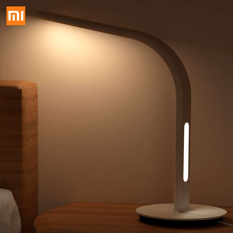 ФОТО  IOS Android APP Control  Original Xiaomi Mijia Smart DeskLamp LED Light Table Lamp 2nd DeskLamp Table Lamp Desklight Dual light