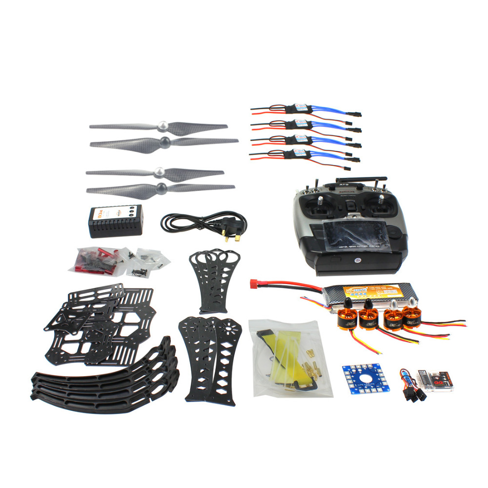 F14892-H DIY RC Drone Quadrocopter RTF X4M360L Frame Kit QQ Super Radiolink AT9