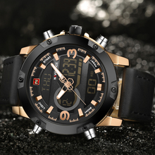 Men's  Military Waterproof Sport  Wrist Quartz Clock