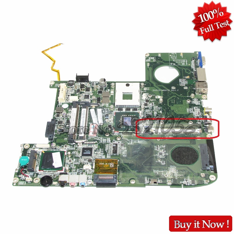 NOKOTION MBAKV06001 DA0ZD1MB6F0 MB.AKV06.001 Main Board For acer Aspire 5920G laptop motherboard GM965 DDR2 nokotion laptop motherboard for acer aspire 5551 nv53 mbbl002001 mb bl002 001 mainboard tarjeta madre la 5912p mother board