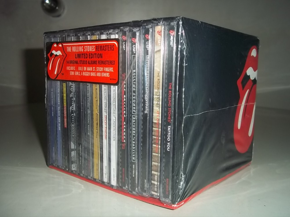 High Quality Rolling Stones CD Boxset 14 Disc Complete Collection with Original Albums цена
